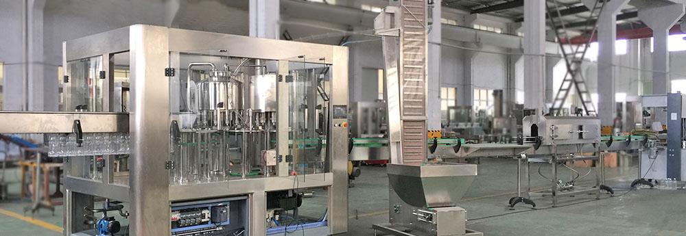 soft beverage filling machine line