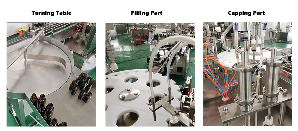 feeding filling capping